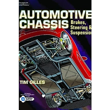 Automotive Chassis, New Book (9781401856304)