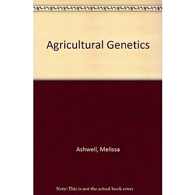 Agricultural Genetics, New Book (9781465204967)