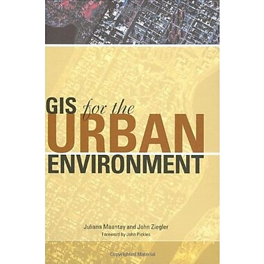 GIS for the Urban Environment, New Book (9781589480827)