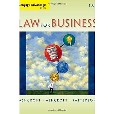 Cengage Advantage Books: Law for Business, Used Book (9781133587613)