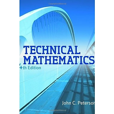 Technical Mathematics, Used Book (9781111540463)