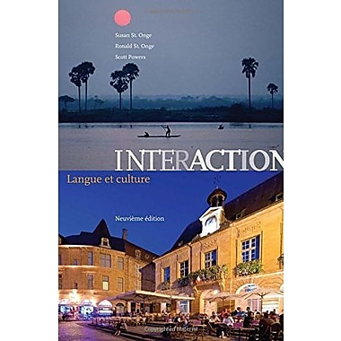 Interaction: Langue et culture (Text Only), New Book (9781133311249)