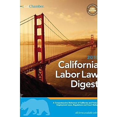2013 Labor Law Digest, New Book (9781579974008)