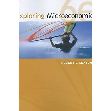 Exploring Microeconomics, Used Book (9781111970321)