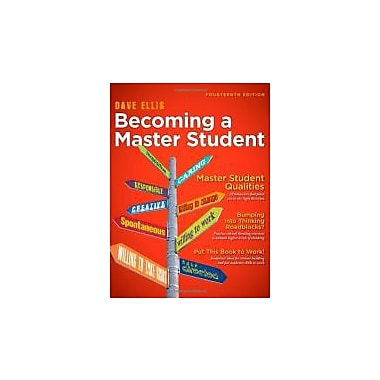 Becoming a Master Student (Textbook-Specific Csfi), New Book (9781111827533)