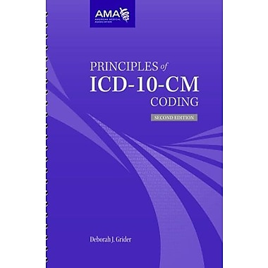 Principles of ICD-10-CM Coding, New Book (9781603598033)