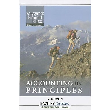 Accounting Principles 10th Edition Volume 1 for Queensborough Community College, Used Book (9781118101377)