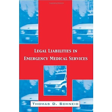 Legal Liabilities in Emergency Medical Services, Used Book (9781560328995)