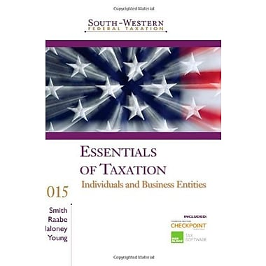 South-Western Federal Taxation 2015: Essentials of Taxation: Individuals and Business Entities, Used Book (9781285439747)