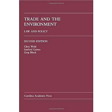 Trade and the Environment: Law and Policy, Used Book (9781594608162)