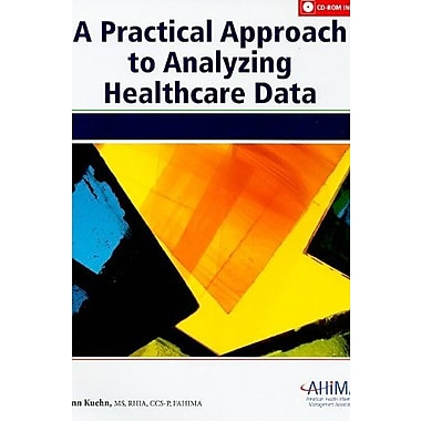 Practical Approach to Analysing Healthcare Data, New Book (9781584262084)