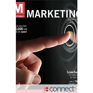 M: Marketing with Connect Plus, New Book (9780077632694)