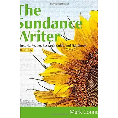 The Sundance Writer: A Rhetoric, Reader, Research Guide, and Handbook, New Book (9781111839086)