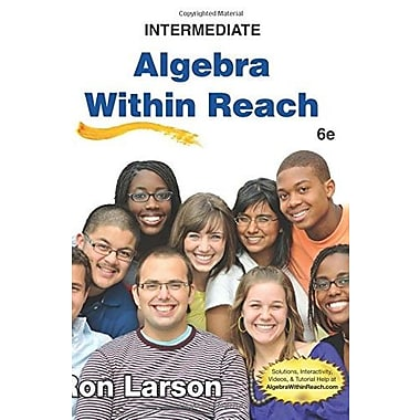 Intermediate Algebra: Algebra Within Reach, Used Book (9781285087412)