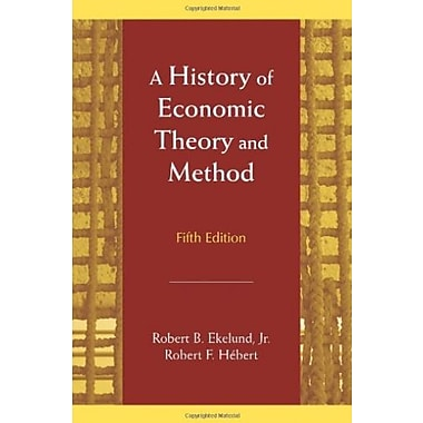 A History of Economic Theory and Method, New Book (9781577664864)