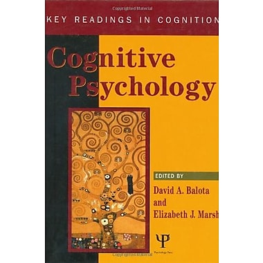 Cognitive Psychology: Key Readings (Key Readings In Cognition), New Book (9781841690643)