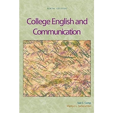 College English and Communication with OLC Premium Content Card, New Book (9780073317939)