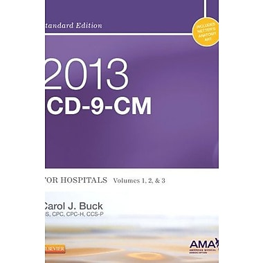 2013 ICD-9-CM for Hospitals, Volumes 1, 2 and 3 Standard Edition, 1e, Used Book (9781455745715)