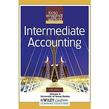 Intermediate Accounting, Vol. 2, 14th Edition, Used Book (9781118107119)