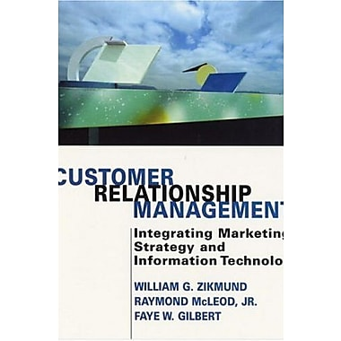 Customer Relationship Management: Integrating Marketing Strategy and Information Technology, New Book (9780471271376)