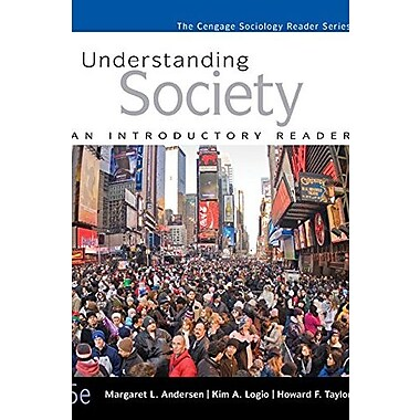 Understanding Society: An Introductory Reader, New Book (9781305093706)