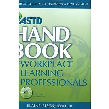 ASTD Handbook For Workplace Learning Professionals, New Book (9781562865122)