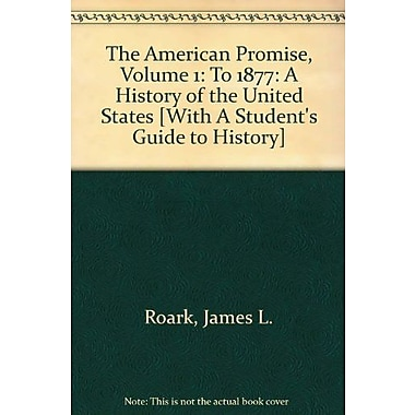 American Promise 5e V1 & Student's Guide to History 12e, New Book (9781457645112)