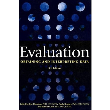 Evaluation: Obtaining and Interpreting Data, 3rd Edition, New Book (9781569002919)