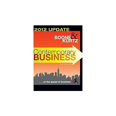 Contemporary Business: 2012 Update, Used Book (9781118010303)