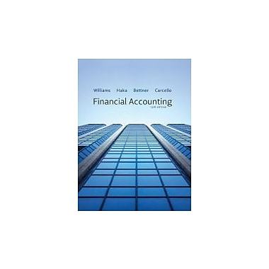 Financial Accounting (9780077328702)