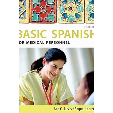 Bundle: Spanish for Medical Personnel, New Book (9781111287016)