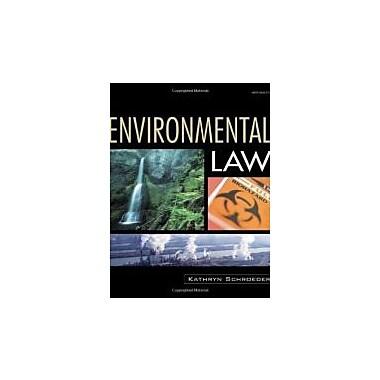 Environmental Law, New Book (9781401857141)