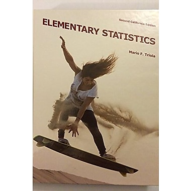 Elementary Statistics, 2nd Edition, Used Book (9781256936442)