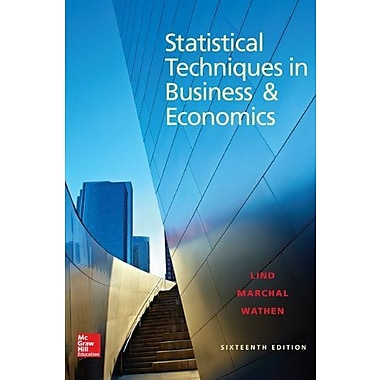 Loose Leaf Statistical Techniques in Business and Economics with Connect Plus, Used Book (9781259288999)