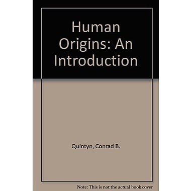 Human Origins: An Introduction, New Book (9781465200846)