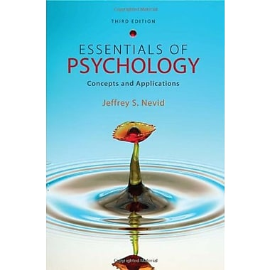 Essentials of Psychology: Concepts and Applications, Used Book (9781111301217)