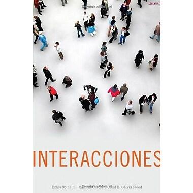 Interacciones, New Book (9781111827410)