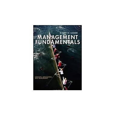 Management Fundamentals: Concepts, Applications, Skill Development, Used Book (9781111577520)