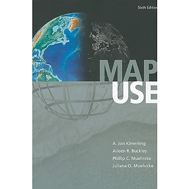 Map Use: Reading and Analysis, Sixth Edition, New Book (9781589482838)