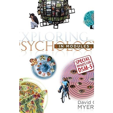 Exploring Psychology in Modules with Updates on DSM-5, Used Book (9781464163425)