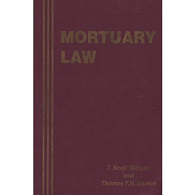 Mortuary Law, Used Book (9781883031022)