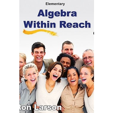 Elementary Algebra: Algebra Within Reach, Used Book (9781285087474)