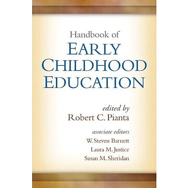 Handbook of Early Childhood Education, New Book (9781462503377)