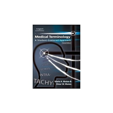 Medical Terminology: A Student-Centered Approach, 2nd Edition, New Book (9781401897505)