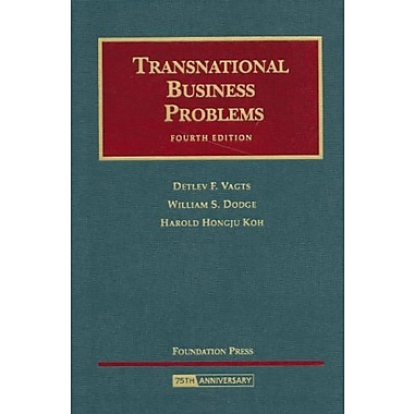 Transnational Business Problems (University Casebooks) (University Casebook Series), Used Book (9781599410845)