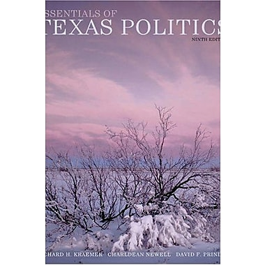 Essentials of Texas Politics (9780534564995)