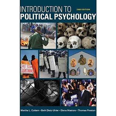 Introduction to Political Psychology: 2nd Edition, Used Book (9781848728813)
