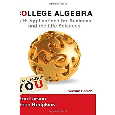 College Algebra with Applications for Business and Life Sciences, Used Book (9781133108498)