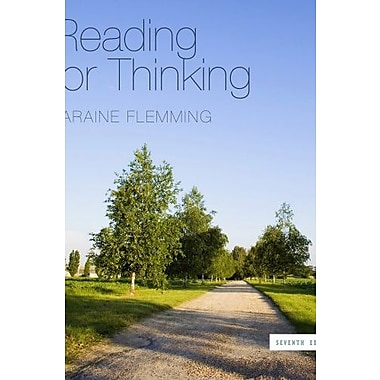 Bundle: Reading for Thinking, 7th + Aplia 1-Semester Printed Access Card, New Book (9781133268598)