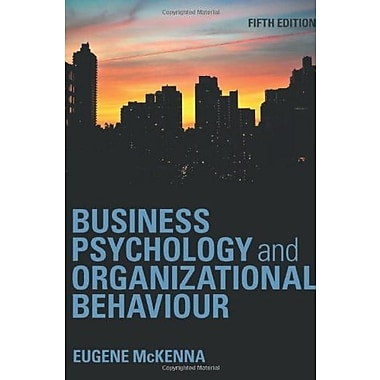 Business Psychology and Organizational Behaviour, New Book (9781848720350)
